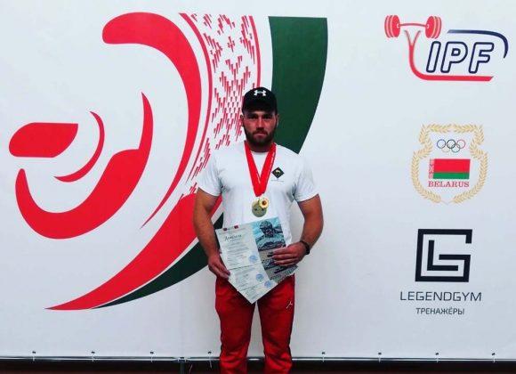 Поздравляем Гисича Сергея Леонидовича, занявшего 1 место в Чемпионате и Первенствах Республики Беларусь